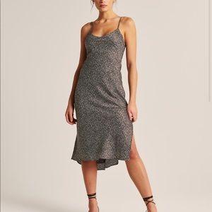 A&F Satin slip dress